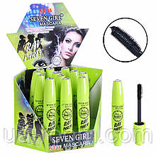 Тушь для ресниц Seven Girl Mascara RAV PARTY 24h  (зеленая) №672B