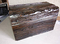 Декоративная балка 17x19 EQ004 Рустик  Темное дерево