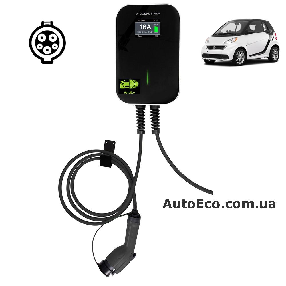 Зарядная станция для электромобилей Besen BS-B10 J1772-32A для Smart Electric Drive