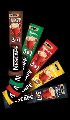 Кофе NESCAFE 3в1 есть все виды (оригинал, турбо, креми и стронг) цена 43 грн. Кофейные напитки Nescafe 3в1