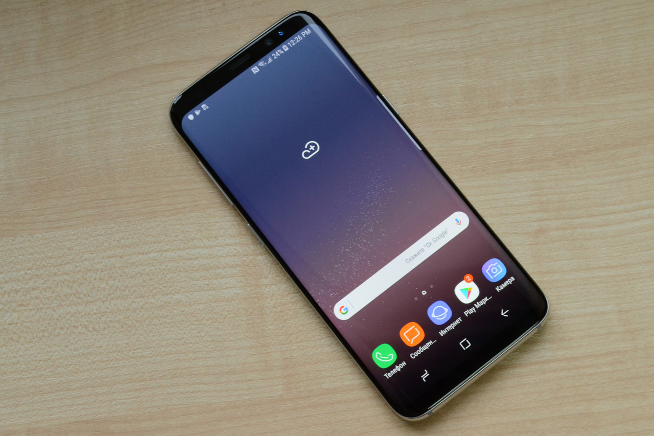 Samsung Galaxy S8 64Gb SM-G950U Arctic Silver Оригинал!