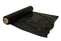 Стретч-плёнка 500мм, длиной 200м (чёрная) 20 мкм