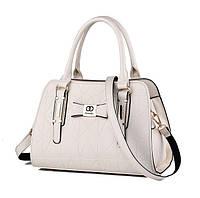 Женская сумка кожа ПУ Белый