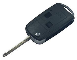 Заготовка TOYOTA выкидной  ключ 2 кнопки (корпус) ACURA style