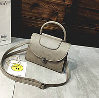 Женская мини сумка Серый, фото 1