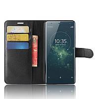 Чехол книжка для Sony Xperia XZ2H8266 / H8216 Черный