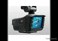 Автомобильный видеорегистратор с антирадаром и GPS Eplutus GR-91