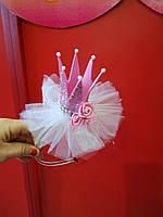 Детская новогодняя корона Феи Принцессы с розами