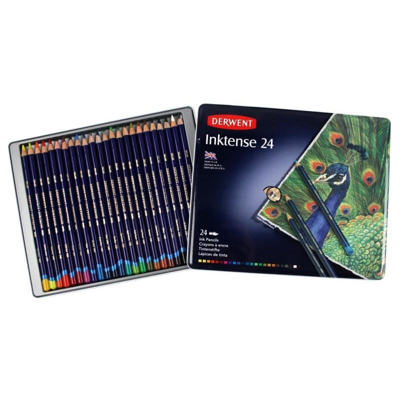 Акварельні олівці Derwent Inktence 24 кольори 0700929