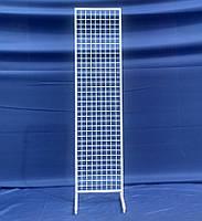 Сетка торговая в рамке на ножках 200х50 см., фото 1
