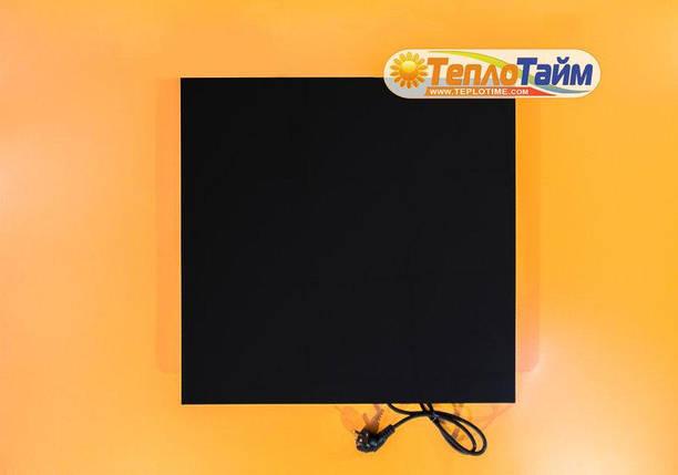 Керамічний обігрівач TEPLOCERAMIC ТСМ 400 чорний керамічний обігрівач Теплокерамик, фото 2