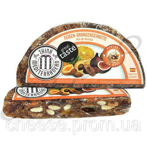 Испанский пирог из сухофруктов Инжир с мигдалем и апельсином 1.25кг
