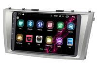 """Штатная магнитола  9"""" Inch дюймов для Toyota Camry 40 (2006-2011г.) на базе Android 7.0 + Подарок"""