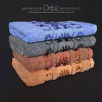 Махровое полотенце для рук и лица 687. Размер 100х45. 100% хлопок