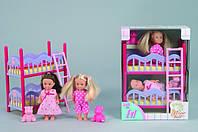 Оригинал. Кукла Еvi и двухъярусная кровать Simba 5733847