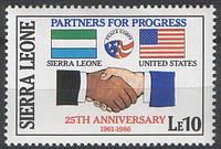 Sierra Leone - 25-летие Корпуса Мира - Сьерра Леоне
