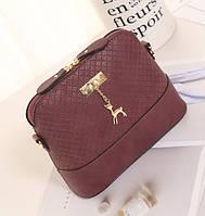 Женская маленькая сумочка Красный, фото 1