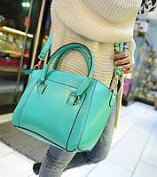 Классическая женская сумка Мятный, фото 1