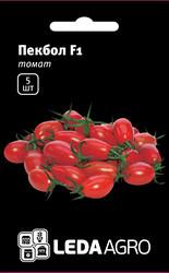 """Семена томата Пекбол F1, 5 сем., высокорослого типа Черри-сливка, ТМ """"ЛедаАгро"""""""