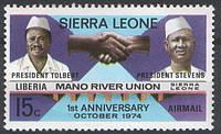 Mano River Union - Сьерра Леоне