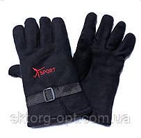 Перчатки Флисовый черные Спорт (Харьков)