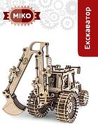 """Дерев'яні рухомі 3D моделі для складання """"МІКО""""."""