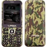 Телефон Sigma X-Style 31 Power (Khaki). Гарантия в Украине 1 год!
