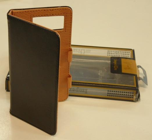 Книжка боковая универсальная 4,7К черная BEST (фирм. упаковка, логотип, улучш.качество)