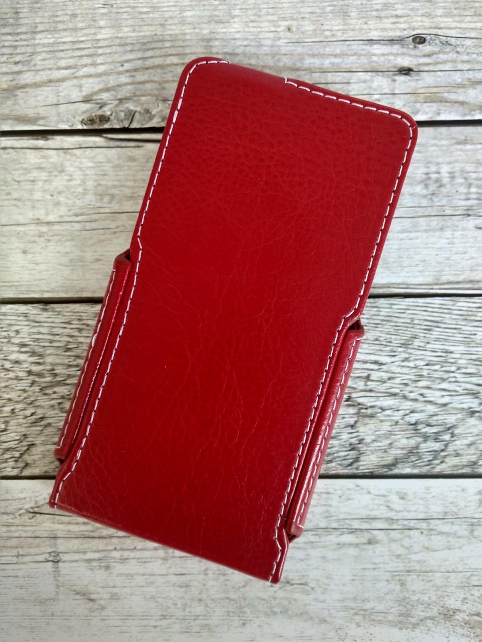 """Книжка """"Status Case"""" 4.3"""" вертикальная красная"""