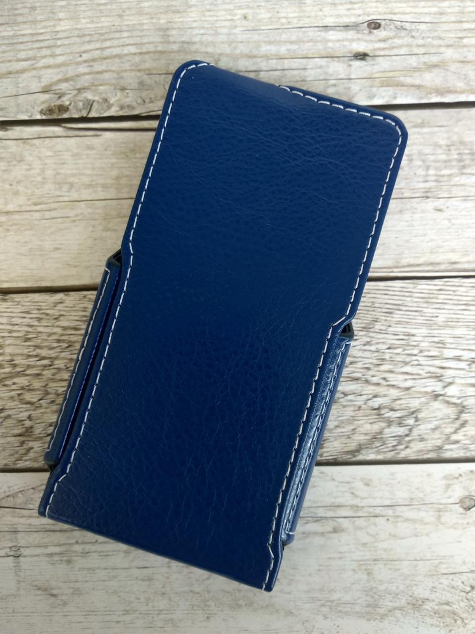 """Книжка """"Status Case"""" 5,2"""" вертикальная синяя"""