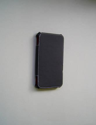 """Книжка """"Status Case"""" 4.3"""" боковая черная (матовая), фото 2"""
