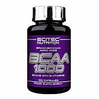 Амінокислоти Scitec Nutrition - BCAA 1000 (100 капсул)