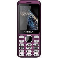 Мобильный телефон Sigma mobile X-style 33 Steel (PINK). Гарантия в Украине 1 год!