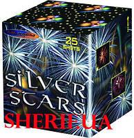 Фейерверк салютная установка 25 выстрелов 2' Серебряные звезды (SILVER STARS)  МС200-25