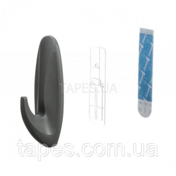 3М 17083 Command. Уличный дизайн-крючок большой черный, максимальная нагрузка 2,2 кг