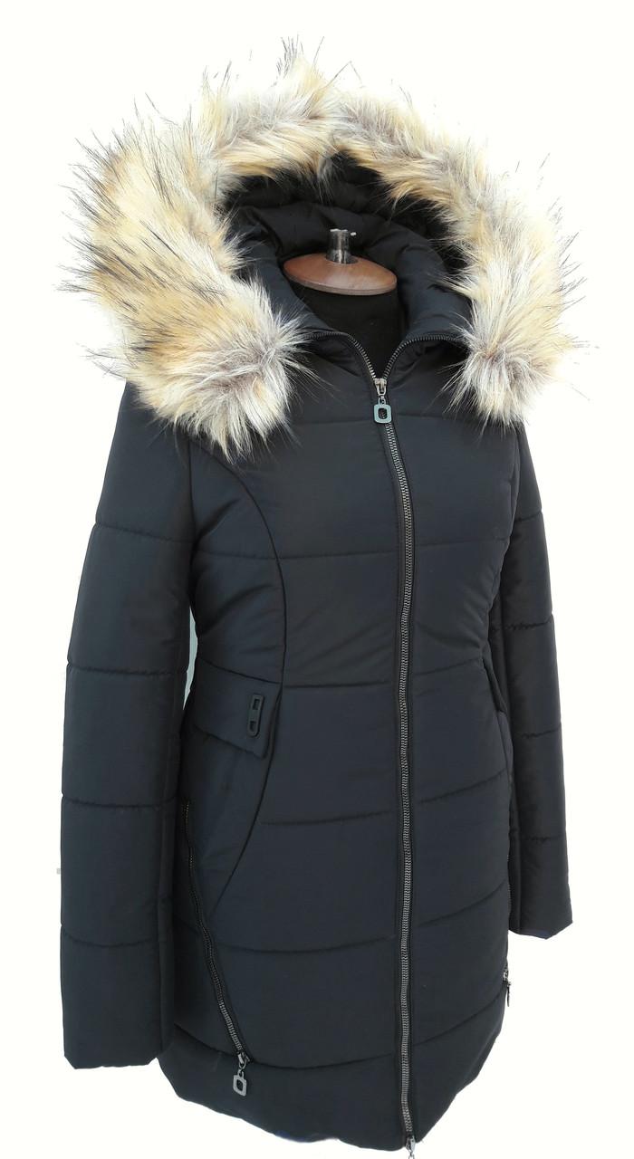 Куртка женская зимняя К 99 чёрная
