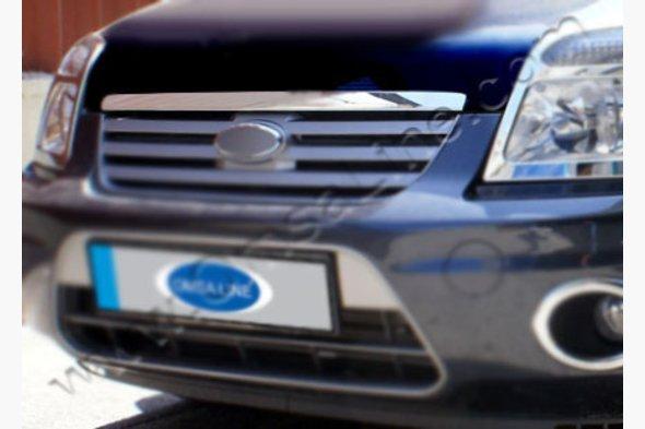 Накладка на кромку капота - Ford Connect 2010-2014 гг.