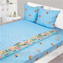 Детское постельное белье 147х112 Бязь