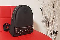 Женский модный рюкзак FERRARI Style, красивый портфель, цвет черный