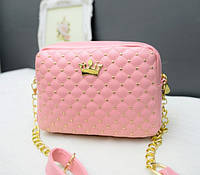 Женская сумочка розовая