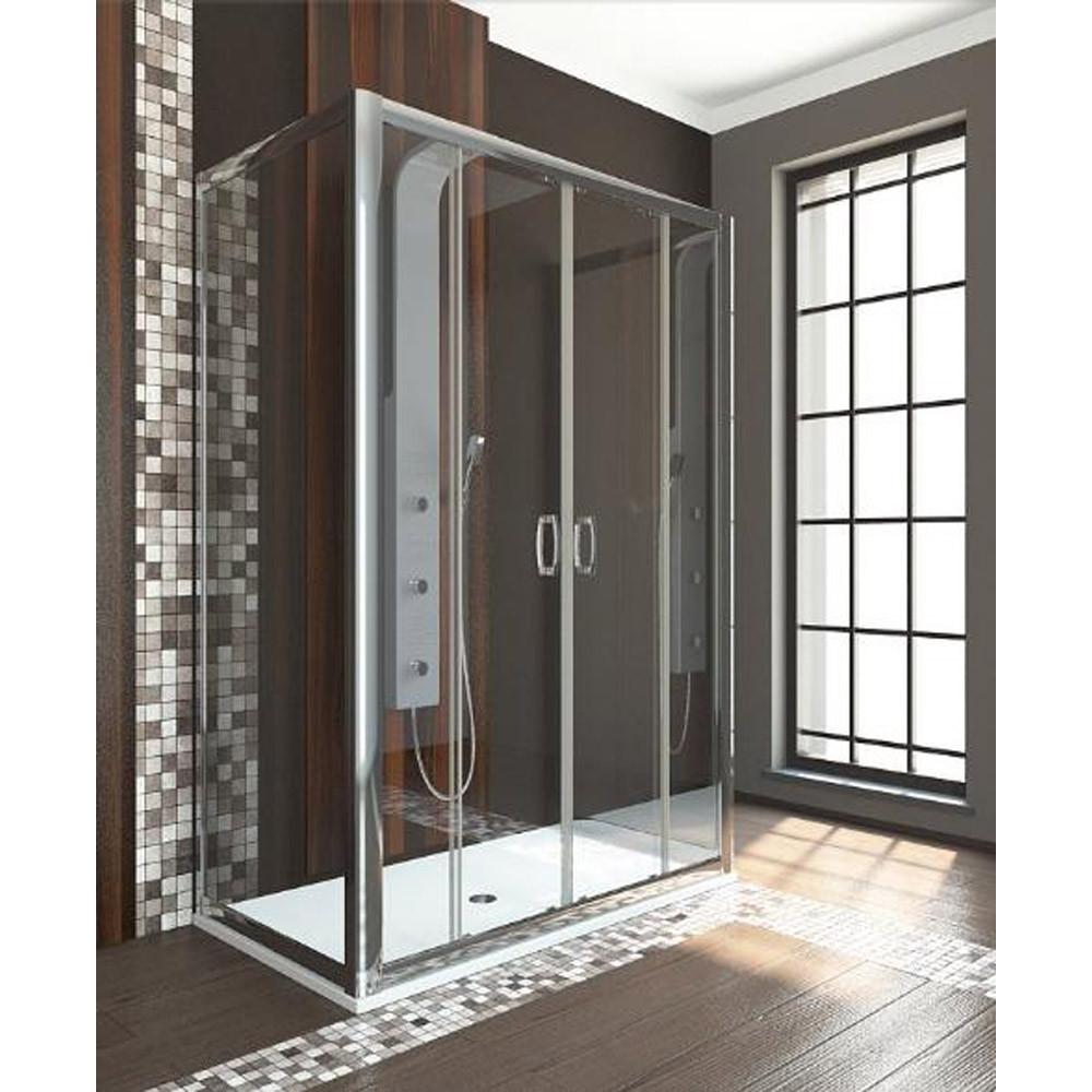 Radaway Premium Plus DWD Раздвижные двери в нишу, стекло прозрачное