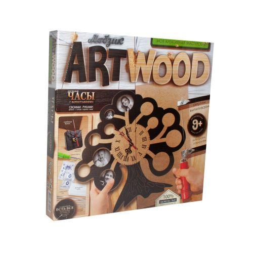 """Набор для выпиливания """"ARTWOOD: Часы своими руками"""" LBZ-01-04"""