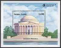 Мемориал Джефферсона - блок Сьерра Леоне