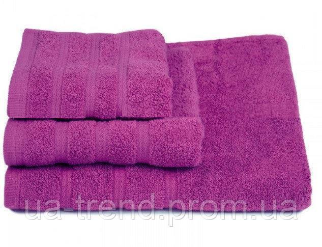 Набор мягких полотенец из махры 3 шт