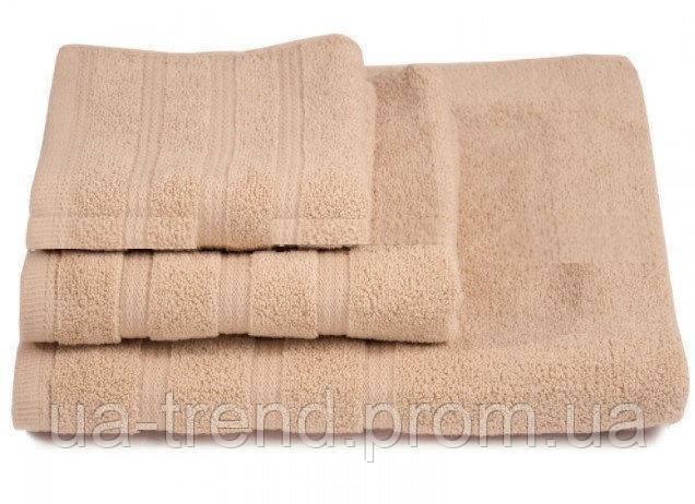 Набор банных полотенец бежевого цвета