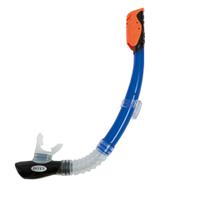 Трубка для плавания Intex 55924, синяя, от 8 лет