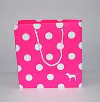 Бумажный пакет Pink маленький, фото 1