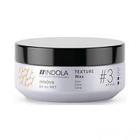 Текстурирующий воск для волос легкой фиксации Indola Texture Wax 85 мл.