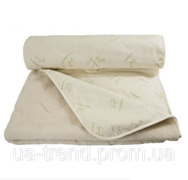 Одеяло шерстяное полуторное 140х205