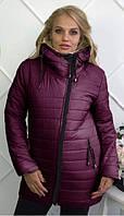 Куртка женская зимняя с капюшоном 46-54 размеры